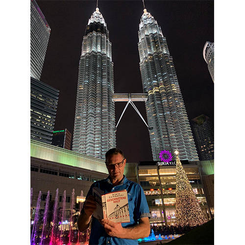 Britta und Frank in Kuala Lumpur