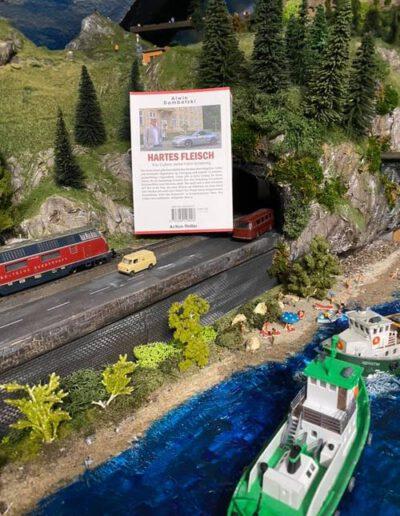 Auf Jürgens Eisenbahnanlage in Schleswig